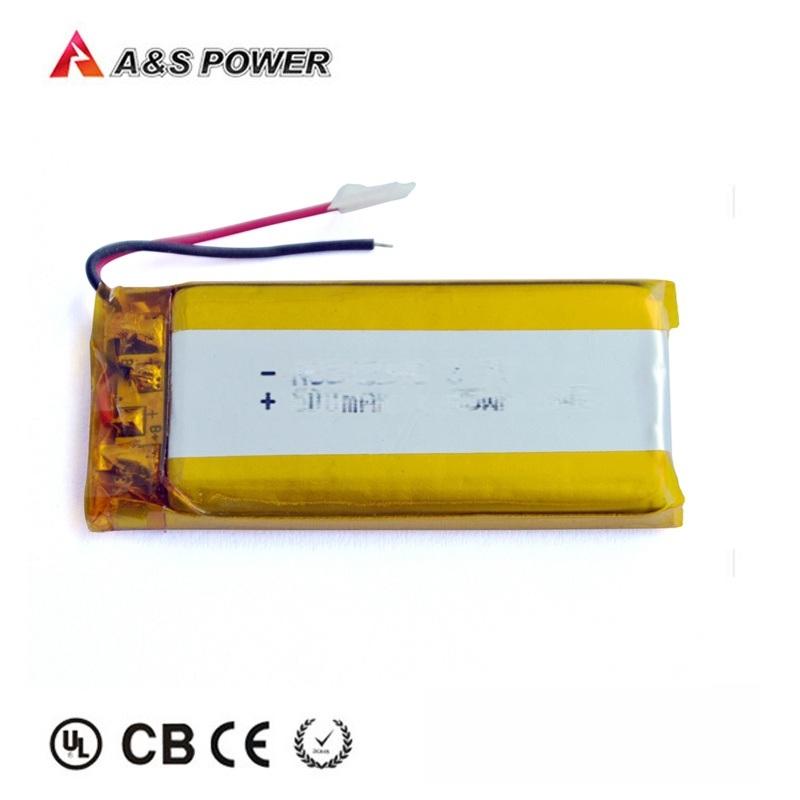 锂聚合物502248 3.7v 500mah锂电池