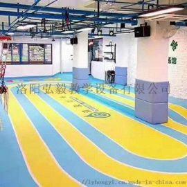 塑胶地板-PVC塑胶地板-洛阳塑胶地板厂家