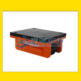 TIR带橡胶板滚轮小车, 调节高度, 避免误差