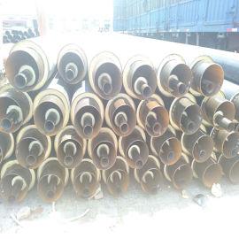 高密度聚乙烯聚氨酯直埋保温管 地埋式聚氨酯保温管
