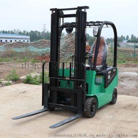 捷克1吨四轮电动叉车 电动堆高车 工厂搬运