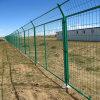 草绿色铁丝护栏网/安全防护公路隔离栅