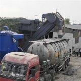 集裝箱卸灰機 成都火車站集裝箱粉煤灰卸料機 拆箱機