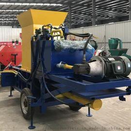 柴油打包机机带青储套装打包机
