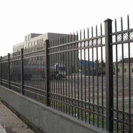 长春双横梁锌钢护栏 蓝白现货工厂围墙锌钢护栏