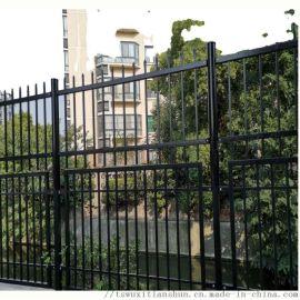 无锡市黑色锌钢护栏网镇江常州南京镀锌方管锌钢栅栏