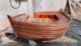 湖北武汉欧式木船沙发造型木船定做摆件小木船