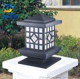 非標定製草坪燈亞克力柱頭燈供應翻砂鋁歐洲庭院柱頭燈