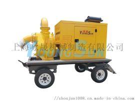 6寸柴油自吸污水泵柴油污水泵 上海咏晟柴油污水泵
