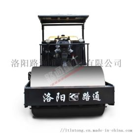 8吨路通重工压路机全液压双钢轮振动压路机