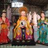 九龙圣母神像图片 河南神像佛像厂家 龙子龙母神像