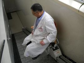崂山区安装座椅电梯启运台阶式升降椅家装老人升降机