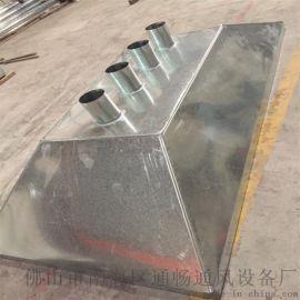 丹灶厨房排烟 通风管道 镀锌螺旋风管批发厂家