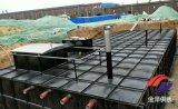 广西来宾地埋式箱泵一体化消防泵站现场组装施工方案