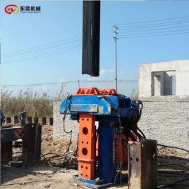 工程的拔桩设备拔出搅拌H型工法拔桩机