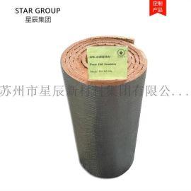 反光铝箔XPE保温隔热材料 反射材料