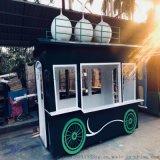 售賣亭 時尚流行戶外奶茶甜品商品售賣亭