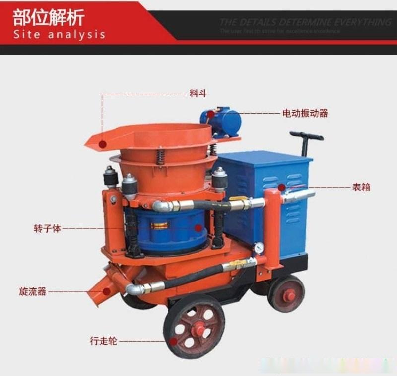甘肅酒泉乾式噴漿機建築噴漿機