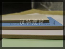 6MM石英纤维装饰板 无机预涂板 **品牌汉特建材