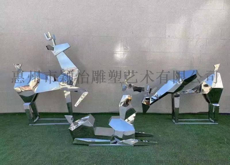 不锈钢雕塑-公园雕塑