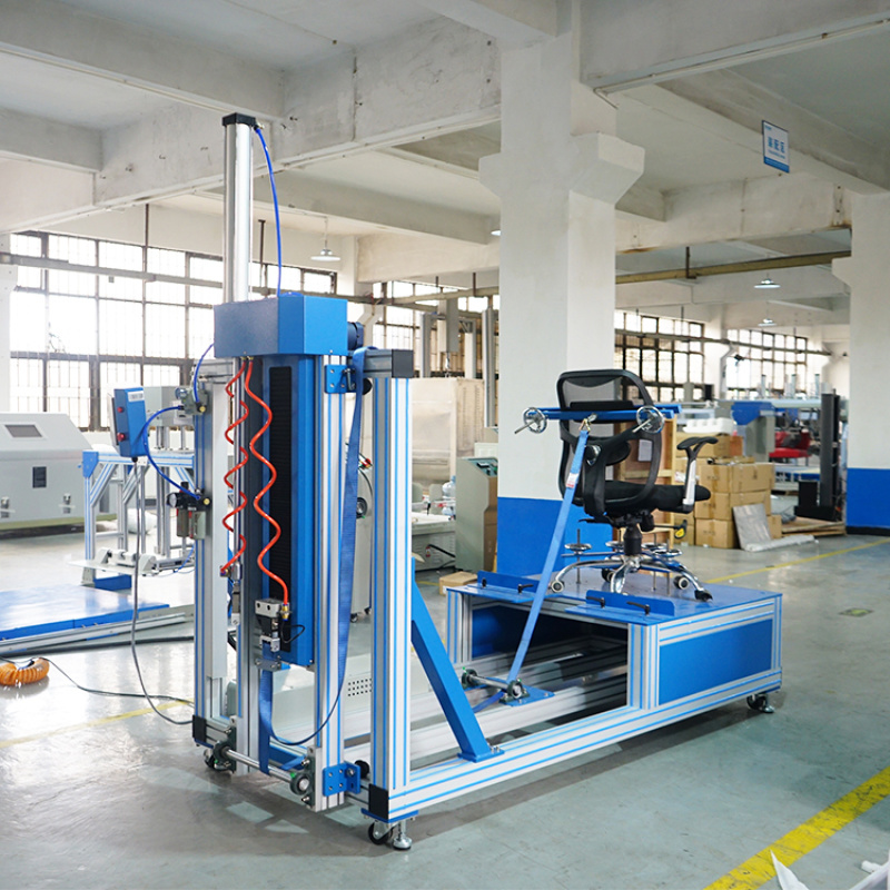 椅子結構強度測試機 辦公椅靠背強度試驗儀