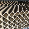 廠家直銷突突開孔陶瓷波紋填料流線型陶瓷波紋規整填料