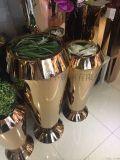 不鏽鋼花架,不鏽鋼花盆圖片