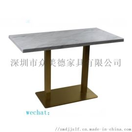 深圳家具厂家直销cz-0  理石餐桌 茶餐厅餐桌