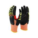 5級防切割橘色抗衝擊手套
