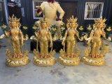 藏佛  菩萨 纯铜藏佛定制 鎏金密宗佛像