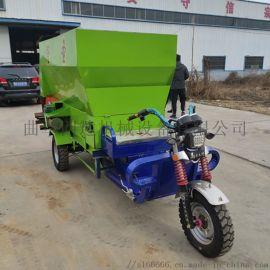圣隆制造饲料混合撒料车 养殖  撒料车