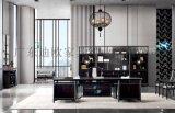 辦公傢俱廠定製大班臺、總裁室辦公傢俱