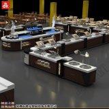 酒店大理石自助餐厅设计 厨房设备自助餐台厂家