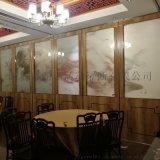 沙井酒店吊掛屏風隔斷摺疊門設計