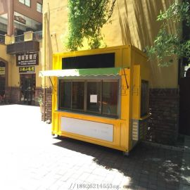 商业街精致食品景观售卖车