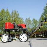 玉米四轮喷杆喷药机/农用柴油喷雾机