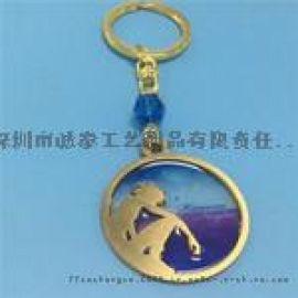 钥匙扣定做创意礼品徽章胸章同学聚会纪念品