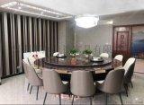 豪華電動餐桌椅 ,自動旋轉餐桌,酒店接待電動餐臺
