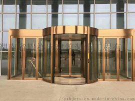 厂价生产销售铜艺旋转门
