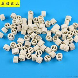 陶瓷填料一字環 幹燥塔填料冷卻塔陶瓷填料廠家