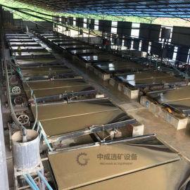 选矿摇床设备实验室小型6s玻璃钢摇床沙金尾矿