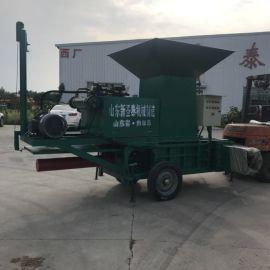 四川广安秸秆成型机 玉米秸秆压块机厂家