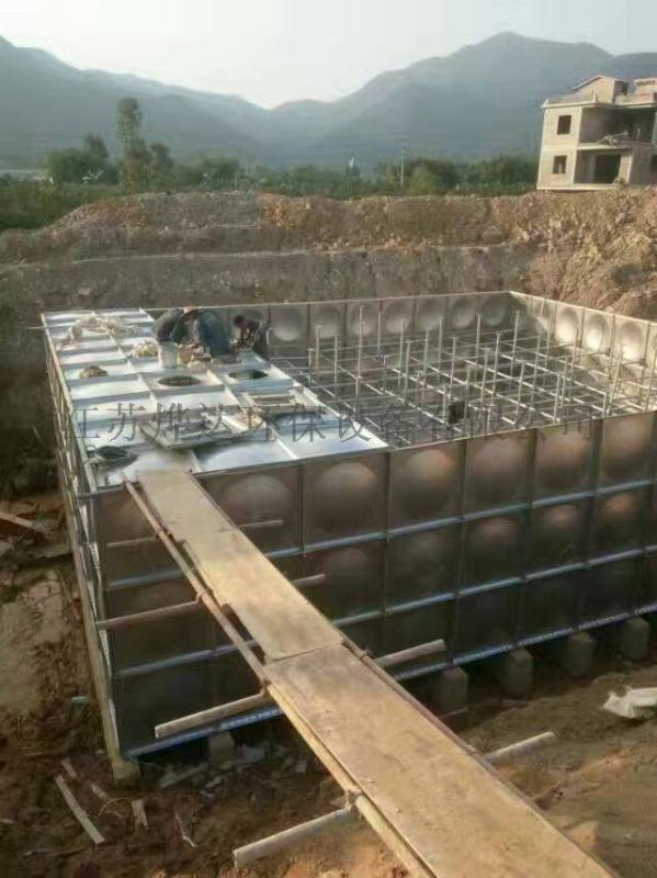 装配式箱泵一体化消防给水泵站管路安装