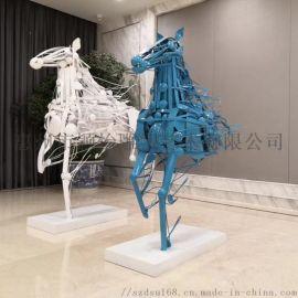 專業雕塑廠家,定做酒店雕塑擺件