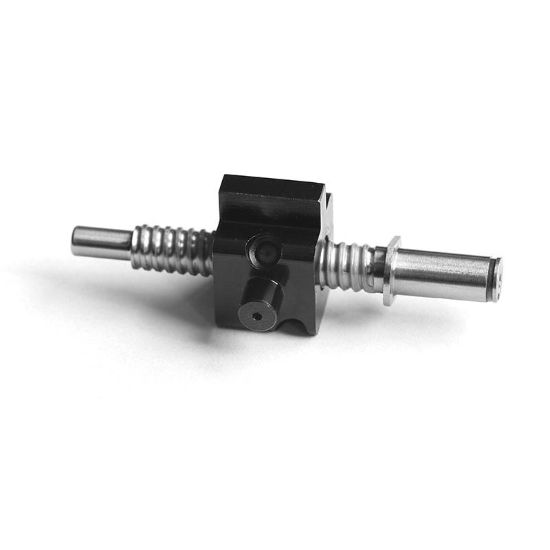 厂家直销直径6导程1.5WKT非标微型滚珠丝杆