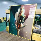 游泳馆UV打印铝单板 健身房艺术uv3d铝单板