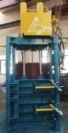 手动立式废纸胶桶海绵液压打包机