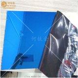 不鏽鋼電梯裝飾藍色鏡面板 幕牆鏡面寶石藍不鏽鋼板