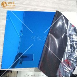 不锈钢电梯装饰蓝色镜面板 幕墙镜面宝石蓝不锈钢板
