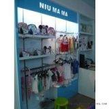德陽童裝母嬰店展櫃廠家定做德陽童裝店母嬰店貨架貨櫃